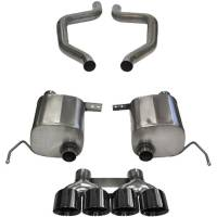 """Recently Added Products - Corsa Performance - Corsa Performance Xtreme Exhaust System Axle Back 2-1/2"""" Diameter 4-1/2"""" Tips - Stainless - GM GenV LT-Series"""