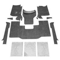 Recently Added Products - Bedrug - Bedrug BedRug Bed Mat - Black - Cargo - Jeep Wrangler YJ 1987-95