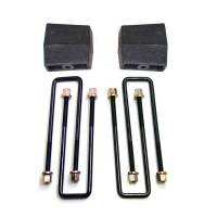 """Recently Added Products - ReadyLift - ReadyLift 5"""" Lift Leaf Spring Block Kit Hardware Included Rear Iron - Natural"""