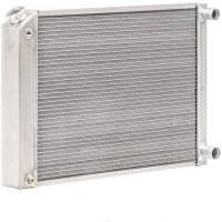 "Recently Added Products - Be Cool - Be Cool Bone Yard Radiator 28-1/4"" W x 17"" H x 3.00"" D Pass Inlet/Pass Outlet Aluminum - Natural"