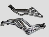 "Full Length Headers - Small Block Ford Headers - BBK Performance - BBK Performance Long Tube Headers 1-5/8"" Primary 2-1/2"" Collector Steel - Chrome"