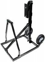 Wheel & Tire Tools - Tire Prep Stand - Allstar Performance - Allstar Performance Steel Tire Prep Stand Cart Black Paint - Allstar Electric Tire Prep Stand