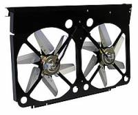 "Cooling & Heating - Perma-Cool - Perma-Cool Cool-Pack Electric Cooling Fan Dual 14"" Fan Puller 5900 CFM - Paddle Blade - 34 x 19"" Tall"