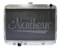 """Recently Added Products - Northern Radiator - Northern Radiator 19-7/8"""" W x 25-1/2"""" H x 3-1/8"""" D Radiator Pass Inlet/Driver Outlet Aluminum Natural - Auto-Trans"""