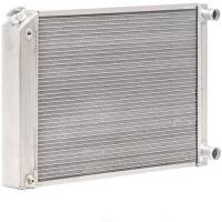 "Recently Added Products - Be Cool - Be Cool Bone Yard Radiator 22"" W x 19-1/2"" H x 3.00"" D Pass Inlet/Pass Outlet Aluminum - Natural"