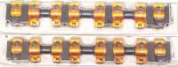 Harland Sharp - Harland Sharp Heavy Duty Rocker Arm Shaft Mount 1.76 Ratio Roller Tip - Aluminum