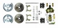 "Front Brake Kits - Street / Truck - Right Stuff Detailing Front Disc Brake Conversion Manual Kits - Right Stuff Detailing - Right Stuff Detailing Disc Conversion Brake System Front 1 Piston 11.00"" Solid Rotors - Offset Hat"