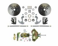 "Front Brake Kits - Street / Truck - Right Stuff Detailing Front Disc Brake Conversion Manual Kits - Right Stuff Detailing - Right Stuff Detailing Disc Conversion Brake System Front 1 Piston 10.50"" Solid Rotors - Offset Hat"