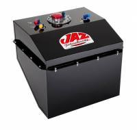 "Recently Added Products - Jaz Products - Jaz Products Man O War Fuel Cell 22 gal 21-1/4 x 18-7/8 x 18-7/8"" Tall AN 10 Outlet - 8 AN Return/Vent"