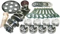 """Recently Added Products - Eagle Specialty Products - Eagle Specialty Products 400 CID Rotating Assembly Cast Crank Hypereutectic Pistons 3.750"""" Stroke - 4.155"""" Bore"""