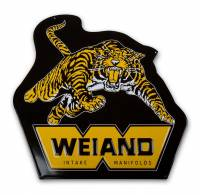"Crew Apparel & Collectibles - Weiand - Weiand Weiand Tiger Metal Sign 20.0 x 20.0"" - Aluminum"
