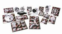 Pulley Kits - Serpentine Belt Pulley Kits - Billet Specialties - Billet Specialties Premium Tru Trac Pulley Kit 6 Rib Serpentine Polished Short Water Pump - SB Chevy