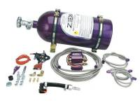 Air & Fuel System - Comp Cams - Comp Cams Wet Nitrous Oxide System 75-125 HP 10 lb Bottle Purple - Mopar Modular Hemi- Kit