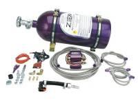 Exhaust System - Comp Cams - Comp Cams Wet Nitrous Oxide System 75-125 HP 10 lb Bottle Purple - Mopar Modular Hemi- Kit
