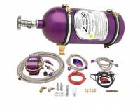 Air & Fuel System - Comp Cams - Comp Cams Wet Nitrous Oxide System 75-125 HP 10 lb Bottle Purple - Ford Modular