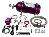 Air & Fuel System - Comp Cams - Comp Cams Wet Nitrous Oxide System 75-175 HP 10 lb Bottle Purple - Ford Mustang GT 2005-10