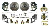 "Front Brake Kits - Street / Truck - Right Stuff Detailing Front Disc Brake Conversion Power Kits - Right Stuff Detailing - Right Stuff Detailing Power Disc Conversion Brake System Front 1 Piston 11.00"" Rotors - Offset Hat"