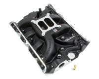 Intake Manifolds - Intake Manifolds - Big Block Ford / Ford FE - Edelbrock - Edelbrock Performer RPM FE Intake Manifold Square Bore Dual Plane Aluminum - Black Powder Coat