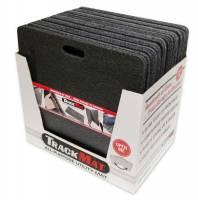 """Bedrug - Bedrug 48 x 24"""" Track Mat Folding Composite Outer Black - Set of 10"""