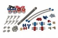 NOS - Nitrous Oxide Systems - Nitrous Oxide Systems (NOS) Pro Shot Fogger Professional Kit Nitrous Oxide System Wet Single Stage 250-500 HP - Direct Port