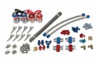 Nitrous Oxide Systems (NOS) - Nitrous Oxide Systems (NOS) Pro Shot Fogger Professional Kit Nitrous Oxide System Wet Single Stage 250-500 HP - Direct Port