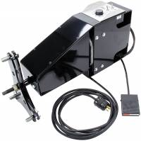 Wheel & Tire Tools - Tire Prep Stand - Allstar Performance - Allstar Performance 110V Tire Prep Stand Motor 4.5 RPM Foot Pedal/Wheel Mount 5 x 5/Wide 5 Wheels - Allstar Electric Tire Prep Stand