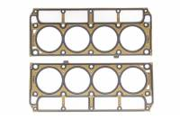 "Edelbrock - Edelbrock 3.920"" Bore Cylinder Head Gasket 0.051"" Compression Thickness Steel Core Laminate GM LS-Series - Pair"