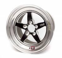 "Weld Wheels - Weld Racing RT-S S71 Street Wheels - Weld Racing - Weld Racing RT-S S71 Wheel 17 x 10"" 7.200"" Back Space 5 x 120 mm - High Pad - Polished/Black Anodize"