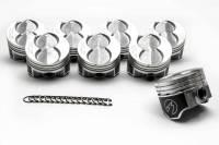"Pistons and Piston Rings - NEW - Pistons - NEW - Speed Pro - Speed Pro Hypereutectic Piston 4.040"" Bore 5/64 x 5/64 x 3/16"" Ring Grooves Minus 16.0 cc - Coated Skirt"