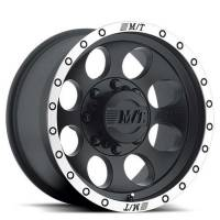 "Mickey Thompson - Mickey Thompson Classic Baja Lock Wheel 17 x 9"" 4.500"" Backspace 6 x 5.50"" Bolt Pattern - Aluminum"