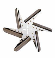 "Mechanical Cooling Fans - Flex Fans - Perma-Cool - Perma-Cool Turbo Flex Mechanical Cooling Fan 15"" Fan 6 Blade 5/8"" Pilot - Universal Bolt Pattern"