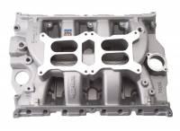 Intake Manifolds - Intake Manifolds - Big Block Ford / Ford FE - Edelbrock - Edelbrock Dual Quad Intake Manifold Dual Square Bore Dual Plane Aluminum - Natural