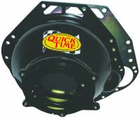 Quick Time - Quick Time Block Plate Bellhousing Hardware SFI 6.1 Steel - Black Paint