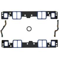 "Recently Added Products - Fel-Pro Performance Gaskets - Fel-Pro Performance Gaskets 0.120"" Thick Intake Manifold Gasket Composite 1.300 x 3.300"" Rectangular Port Small Block Chevy - Kit"