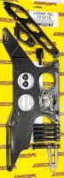 Air & Fuel System - Lokar - Lokar Carb Mount Throttle Cable Bracket Return Spring Aluminum Black Anodize - Morse Cable
