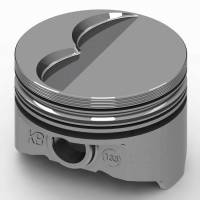 "KB Performance Pistons - KB Performance Pistons KB Series Piston Hypereutectic 4.160"" Bore 5/64 x 5/64 x 3/16"" Ring Grooves - Minus 6.0 cc"