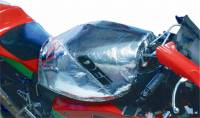 Recently Added Products - Design Engineering - Design Engineering 2 mm Thick Fuel Can Cover Heat Reflective Plastic Silver Motorcycles - Each