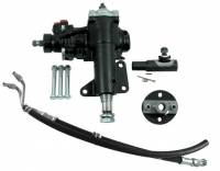 """Recently Added Products - Borgeson - Borgeson Power Steering Box 16 to 1 Ratio 1-1/8"""" Sector Shaft Joints/Lines - Iron"""