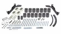 "Performance Accessories - Performance Accessories 3"" Lift Body Lift Front Bumper Brackets Hardware Nylon/Steel - Black/Zinc Oxide - Dodge Fullsize Truck 1997-2001"