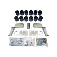 "Performance Accessories - Performance Accessories 3"" Lift Body Lift Front Bumper Brackets Hardware Nylon/Steel - Black/Zinc Oxide - GM Fullsize SUV 1992-94"