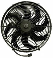 "Electric Fans - Proform Electric Fans - Proform Performance Parts - Proform Performance Parts High Performance Electric Cooling Fan 16"" Fan Push/Pull 2100 CFM - Curved Blade"