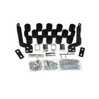 "Performance Accessories - Performance Accessories 3"" Lift Body Lift Front Bumper Brackets Hardware Nylon/Steel - Black/Zinc Oxide - Dodge Fullsize Truck 1994-96"