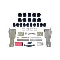 "Performance Accessories - Performance Accessories 2"" Lift Body Lift Front Bumper Brackets Hardware Nylon/Steel - Black/Zinc Oxide - GM Compact Truck 1998-2003"
