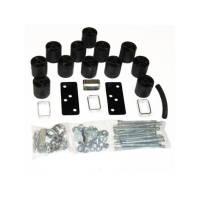 "Performance Accessories - Performance Accessories 3"" Lift Body Lift Front Bumper Brackets Hardware Nylon/Steel - Black/Zinc Oxide - Ford Ranger 1993-94"
