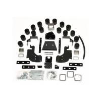 """Performance Accessories - Performance Accessories 3"""" Lift Body Lift Front/Rear Bumper Brackets Hardware Nylon/Steel - Black/Zinc Oxide"""