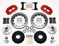 """Front Brake Kits - Street / Truck - Wilwood Forged Narrow Superlite 6R Big Brake Front Brake Kits (Hub) - Wilwood Engineering - Wilwood Forged Narrow Superlite 6R Big Brake Front Brake Kit (Hub) - 13"""" Drilled/Slotted Iron Rotor - Offset"""