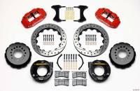 """Rear Brake Kits - Street / Truck - Wilwood Forged Narrow Superlite 4R Big Brake Rear Parking Brake Kits - Wilwood Engineering - Wilwood Forged Narrow Superlite 4R Big Brake Rear Parking Brake Kit - 12.875"""" Solid Steel Rotor - Offset Hat"""