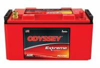 "Odyssey Battery - Odyssey Battery AGM Battery 12V 1175 Cranking Amps Standard Terminals - 13.14"" L x 6.99"" H x 6.75"" W"