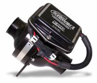 """Stewart Components - Stewart Components Electric Water Pump Inline 1-3/4"""" Hose Barb Inlet/Outlet Aluminum - Black Anodize"""