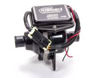 """Stewart Components - Stewart Components Electric Water Pump Inline 1-1/4"""" Hose Barb Inlet/Outlet Plastic - Black"""